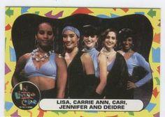 Fly Girls trading card♣Jennifer aka J.LO and Carrie Ann last name INABA♣ツ