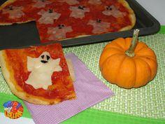 La pizza che fa booh! Un'idea per Halloween