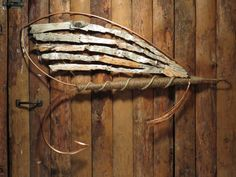 These unique hand-made wall sculptures are the perfect gift for the fishing or outdoors enthusiast in your life. Inspired by classic salmon flies