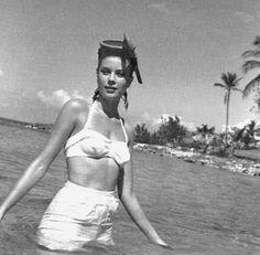 Grace Kelly photographed at Couples Tower Isle, Jamaica.  Same place Bob & I honeymooned :)