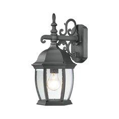 COVINGTON wall lantern Black 1x100W 120 SL92287
