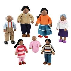 Have to have it. KidKraft African American Doll Family $24.99