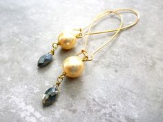 My Pick of the Day! Swarovski pearls & magical labradorite - choose your style, short or long! Take your pick & get 30% off with the discount code MYPICK!