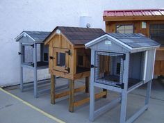 Rabbit Hutch, would make nice chick brooder or mating pens.