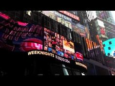 ▶ Instagram Twitter Wall in Times Square - YouTube Social Media Ad, Times Square, Ads, City, Twitter, Videos, Youtube, Instagram, Cities