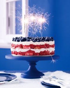 Red, white and blue triffle: http://www.stylemepretty.com/living/2014/07/01/15-recipes-for-the-4th-of-july/
