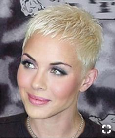 Icy Short Pixie Cut - 60 Cute Short Pixie Haircuts – Femininity and Practicality - The Trending Hairstyle Super Short Hair, Short Grey Hair, Short Hair Cuts For Women, Short Hairstyles For Women, Short Hair Styles, Very Short Pixie Cuts, Edgy Pixie, Pixie Styles, Everyday Hairstyles