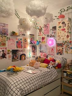 Indie Room Decor, Cute Bedroom Decor, Room Design Bedroom, Aesthetic Room Decor, Room Ideas Bedroom, Study Room Decor, Pastel Room, Cute Room Ideas, Pretty Room
