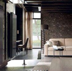 Minimalist. Stone and concrete