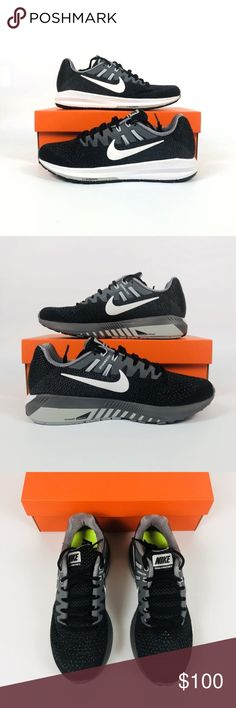... best service 7c71f 9811d Nike Air Zoom Structure 20 Nike Air Zoom  Structure 20 BlackWhiteClGrey 849577 ...