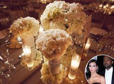 Celebrity Florist Eddie Zaratsian Weighs In on Kim Kardashian and Kanye West's Wedding Gold Wedding Theme, Wedding Goals, Wedding Planning, Dream Wedding, Boho Wedding, Wedding Reception, Wedding Stuff, Wedding Ideas, Kim Kardashian Wedding Kanye
