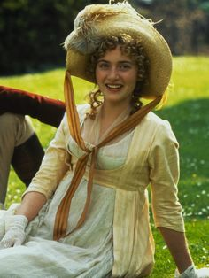 Kate Winslet as Marianne Dashwood in Sense and Sensibility (1995).
