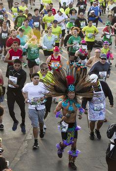 Scenes From The 2013 LA Marathon