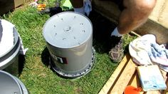 How to Build a 5 Gallon Self Wicking Tomato Watering Container in 15min for $10 | Practical Survivalist | Page 2 Wicking Beds, Container Gardening, Wicked, Gardens, Building, Life, Veggies, Buildings, Garden