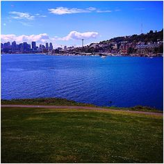 Gas Works Park, Seattle WA.  This Place is a great little walk around place with quirky art, beautiful water views as well as views of Seattle ! Worth the stop https://freeasmetravel.blogspot.com/