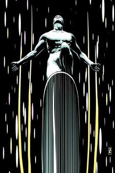 "comic-art-showcase: "" Silver Surfer by Patrick Zircher "" * Rogue Comics, Bd Comics, Marvel Comics Art, Marvel Comic Books, Comic Books Art, Ms Marvel, Marvel Heroes, Captain Marvel, Comic Book Artists"