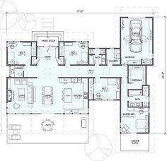 2,350 square feet 1 Story 4Bedroom 2.5 Bathroom