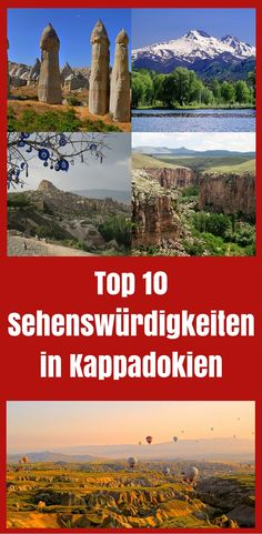 Die Top 10 Sehenswürdigkeiten in Kappadokien (Türkei) findest du in meiner neuen Liste im Türkei Reiseblog! http://www.tuerkeireiseblog.de/sehenswuerdigkeiten-kappadokien/