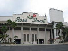 the rose bowl, pasadena, ca