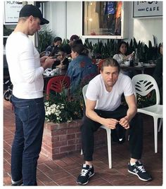Charlie Hunnam & his Brother Billy