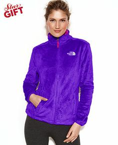 The North Face Jacket, Osito Fleece - The North Face Jackets & Coats - Women - Macy's - Size L