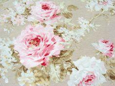 Rosen Stoff Überbreit 280 cm breit von leho001olena auf DaWanda.com