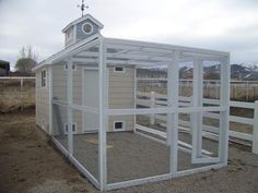 one INCREDIBLE chicken coop! @Kari Jones Nelson Resnik is it crazy that I could see this as being YOUR coop of the future? The future after we brutalize the members of your HOA who aren't willing to play nice?