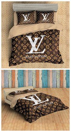 Fashion Brands Louis Vuitton Duvet Cover Set #beddings #beddingsets #duvetcovers