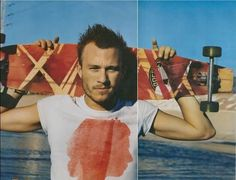Heath Ledger and long boarding!