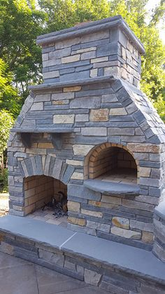 Outdoor DIY Pizza Oven and Fireplace by BrickWood Ovens O. Outdoor DIY Pizza Oven and Fireplace by BrickWood Ovens Outdoor DIY Pizza Oven and Fireplace by B. Outside Fireplace, Backyard Fireplace, Diy Fireplace, Modern Outdoor Fireplace, Outdoor Fireplace Designs, Outdoor Fireplaces, Outdoor Living, Diy Pizza Oven, Pizza Oven Outdoor
