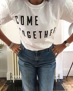 Im giving away a free Come Together t-shirt with every order from my shop at the moment. Just leave a comment at checkout saying which size youd like. Youre welcome ;) xxx www.violetandpercy.com (theyre unisex and sizes go from small to extra large)