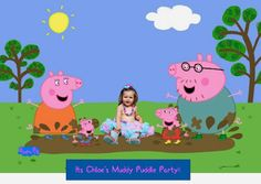 MangoStix: A Peppa Pig Party- Chloe Turns 2!