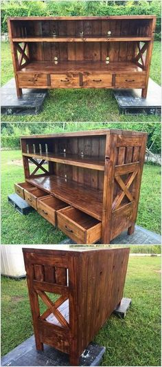 Build this. But make the drawers so that the crates from Walmart would fit in them.