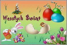 Wielkanoc: Animowane kartki wielkanocne z życzeniami Christmas Bulbs, Holiday Decor, Christmas Light Bulbs