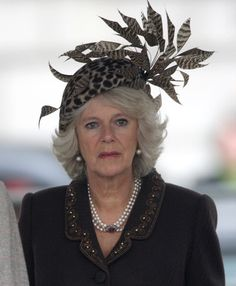 """Camilla, Duchess of Cornwall, 2007.. there's a point where """"bad taste"""" is all you have."""