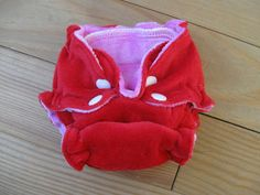 Natural Violet: Valentine newborn fitted diapers (darling diapers nb fitted pattern)