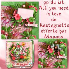 le digiscrap de mayasa: all you need is love by kastagnette + qp free --- #freebie #digiscrap #digitalscrapbooking