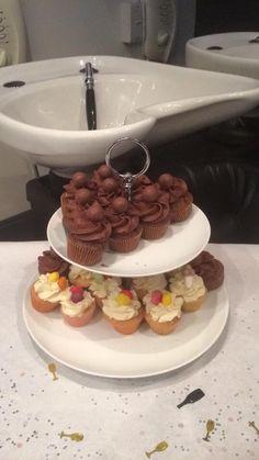 Cupcakes at MG Hair