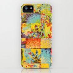 COLORFUL INDECISION 2 - Vibrant Wow Beautiful Abstract Acrylic Painting Collection Nature Rainbow iPhone Case by EbiEmporium - $35.00