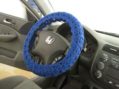 Your place to buy and sell all things handmade Crochet Car, Hand Crochet, Car Steering Wheel Cover, Crafts To Make And Sell, Tissue Box Covers, Diy Craft Projects, Car Accessories, Crafting, Handmade