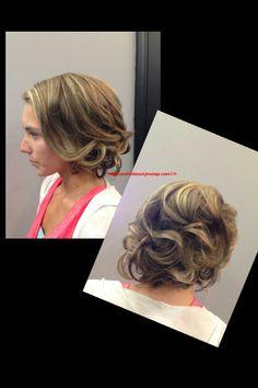 Prom Hair. Hairstyles. Formal Hair. Updo.