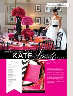 Swooning for Kate Spade