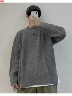 You searched for akolzol.com Casual Sweaters, Winter Sweaters, Casual Tops, Long Sleeve Sweater, Men Sweater, Korea Fashion, Fashion Fashion, Boutique Shop, Fashion Boutique