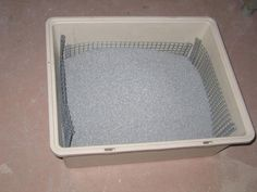 I have three cats so keeping the litter box(es) clean can be a real chore. I bought one of those expensive self-cleaning litter machines but for the price I thought. Crazy Cat Lady, Crazy Cats, Diy Litter Box, Cat Toilet, Three Cats, Cat Enclosure, Cat Room, Animal Projects, Cat Furniture
