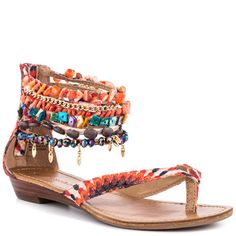 It's time to show off those toes! Spice up your spring wardrobe with a cute pair of sandals.