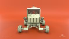 ArtStation - Vehicle modeling from a concept sketch, Zack Cheng