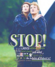Hunger Games Quotes / Peeta / Katniss