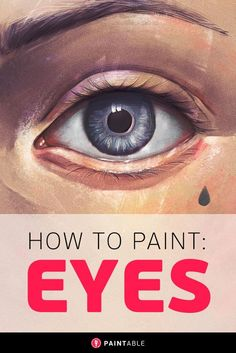 The EXACT Process For Painting Striking, Realistic Eyes Digital art painting tutorial // The Method to Painting Perfect Eyes… Painting People, Painting Tips, Painting & Drawing, Painting Process, Oil Painting Lessons, Painting Videos, Figure Drawing, Watercolor Painting, Digital Painting Tutorials