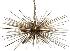 We love the look of urchin chandeliers - and the price of this Dutton Brown one!