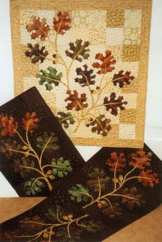 Old Oak Tree Quilt and Table Runner Pattern. $9.00, via Etsy.
